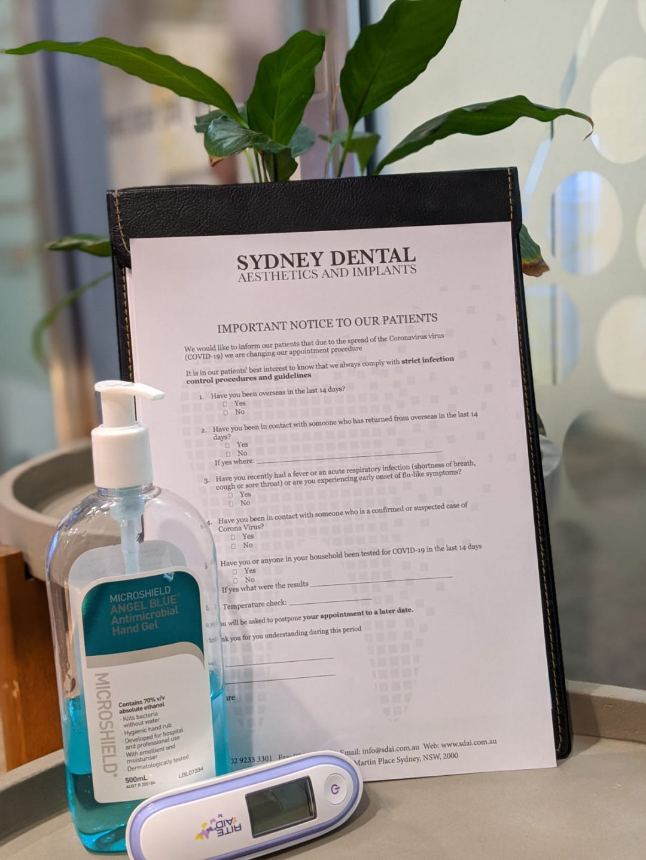 covid safe dentist sydney